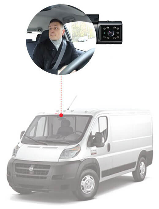vehicle camera system HD Fleet